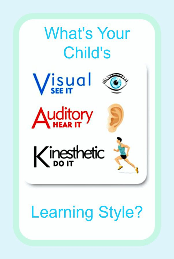What is Your Childs Learning Style ~ Raising5Girls